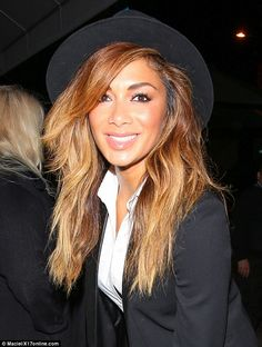 Nicole Scherzinger oozes class in sophisticated black trouser suit #dailymail