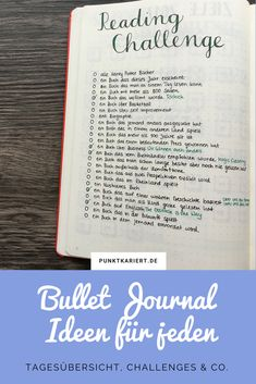 Bullet Journal Ideas that anyone can implement immediately - Daily Surveys, Challenges & Co .: Bullet Journal Ideas Page - Bullet Journal Tracker, Bullet Journal Meal Plan, Bullet Journal Blog, Journal Guide, Bullet Journal Weekly Spread, Bullet Journal Spreads, Journal Challenge, Bullet Journal Layout, Book Journal