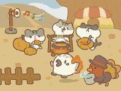 Cute Animal Drawings Kawaii, Cute Drawings, Walpapers Cute, Restaurant Icon, Cute Doodle Art, Cute Games, Comic Panels, Animal Games, Kawaii Wallpaper