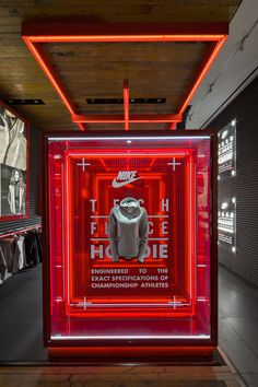 Fall 2013 Nike Tech Pack product series experience in NYC Moynihan Station and Nike's Downtown New York flagship store, 21 Mercer.