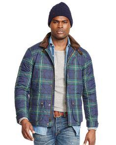 Quilted Tartan Jacket - Polo Ralph Lauren Lightweight & Quilted  - RalphLauren.com