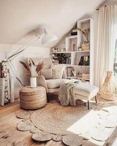 Home Decor Living Room .Home Decor Living Room Room Ideas Bedroom, Bedroom Decor, Decor Room, Attic Bedroom Designs, Study Room Decor, Attic Rooms, Living Room Designs, Wall Decor, Aesthetic Room Decor
