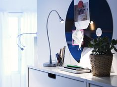Ikea Portugal, Led, Floating Nightstand, Table, Furniture, Home Decor, Light Fixture, Houses, Style