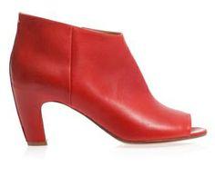 Maison Martin Margiela -- Open Toe Ankle Boots