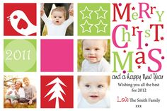 Blue Dog Creations: Personalised Christmas Cards 2012 - Print it yourself  Love blue dog's cards - have used them now for chrissy cards and baby thank you's - so gorgeous