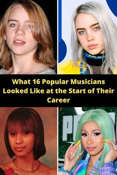What 16 Popular Musicians Looked Like at the Start of Their Career Celebrity Look, Celebrity Gossip, Celebrity News, Top 10 Actors, Cool Gadgets To Buy, Hair Styler, Kurti Designs Party Wear, Pakistani Dress Design, Famous Girls