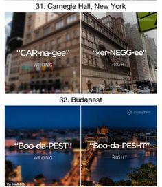 Pronounce it right ☆♡☆♡ Halls, Budapest, Desktop Screenshot, Words, Places, Horse, Lugares
