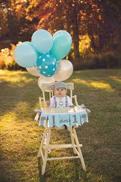 1st Birthday Boy / I AM ONE Highchair Banner by SweetGeorgiaSweet