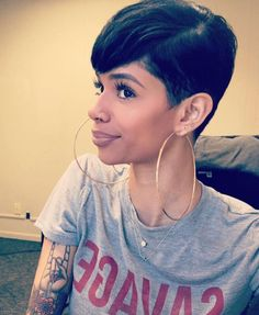 If I cut my hair again this is what I want ❤️❤️