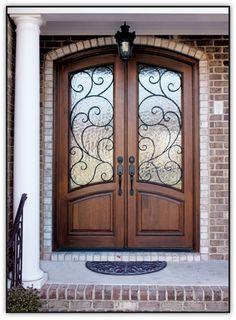 Spanish Style Wooden Gates | Doors by Design - Home - Custom Iron Door /Wood and Iron Doors ...