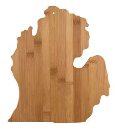 Totally Bamboo Cutting and Serving Board, Michigan State