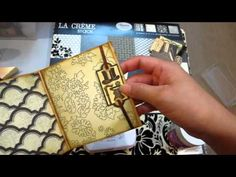 Le Romantique Tutorial - Multi Pocket Envelope mini. Very cute and super easy mini that uses one business size envelope. I have a ton of these.