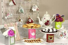 20 inspirações para decorar o chá de cozinha  http://www.blogdocasamento.com.br/20-inspiracoes-para-decorar-o-cha-de-cozinha/