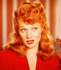 67 Of The Most Legendary Redheads Of All Time/Lucille Ball...