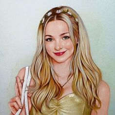 """""""Dove Cameron inspired by """"Glowing In The Dark"""" ✨✨"""" Tumblr Drawings, Bff Drawings, Realistic Drawings, Disney Drawings, Liv Et Maddie, Dove Cameron Style, Kawaii Disney, Sofia Carson, Celebrity Drawings"""