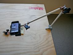 $30 Gobo Arm: Mobile Document Camera Stand