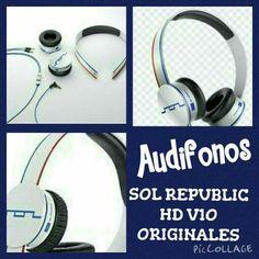 Audifonos SOL REPUBLIC HD V10 ORIGINALES S/.300 956053054