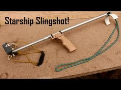 Survival Weapons, Survival Kit, Survival Skills, Homemade Weapons, Homemade Tools, Pvc Pipe Projects, Projects For Kids, Archery, Diy Slingshot