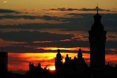 Sonnenuntergang heute, 14.7.2014 in Leipzig 033