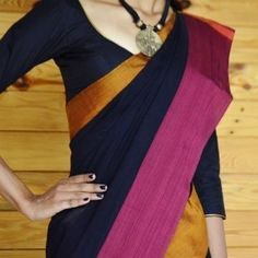 Ganga Jamuna Ethnic Cotton Black