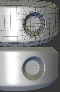 Справка: Как у модели дем формы? Практические мини-Татс для механической SUB-D АКА Добавить еще GEO - Страница 107 - Polycount форума