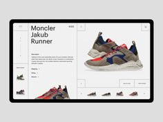 Luxury Sneaker Store by Hrvoje Grubisic - Dribbble Website Design Layout, Web Layout, Store Layout, Fashion Website Design, Sneaker Store, Self Branding, Website Design Inspiration, Design Development, Page Design