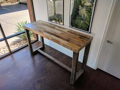 restaurant counter reclaimed wood bar restaurant c - restaurant Bar Dining Table, Dining Set With Bench, Wood Bar Table, Bar Tables, Kitchen Tables, Kitchen Ideas, Restaurant Counter, Restaurant Design, Top Table Ideas
