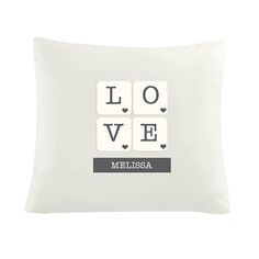 Personalised LOVE Tile Cushion Cover http://www.wedding-giftsonline.co.uk/love-tiles-personalised-cushion-cover-4116-p.asp