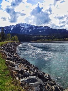 Centennial Park Dr, Revelstoke, British Columbia — by Linda Sibbald (Nisbett). View from Centennial Park in Revelstoke BC. Make sure to check out this park for 360 of beauty and turquoise blue water.