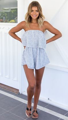 Electric Feel Playsuit