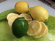 """""""Domácí citrónová šťáva (sirup)"""""""