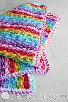 Ravelry: Basket of Rainbows Blanket pattern by Susan Carlson $5.50 USD