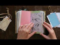 A simple junk journal flip through