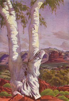 Image detail for -The Art of Albert Namatjira , Albert] MOUNTFORD [NAMATJIRA, C.P ...