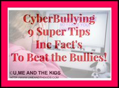 Cyberbullying - 9 Super Tips Including facts and advice - Please RE-PIN this may help someone who suffers in silence! #cybercrime #bullies