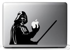 Stickers, Star Wars DARTH VADER decal stickers for MAC-MacBook air 11, 15 ' 13 '