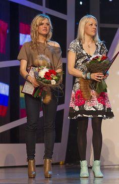 Gabriela Soukalova and Kaisa Mäkäräinen