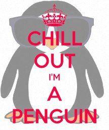 Cute penguin from an Upsilon Active!!
