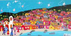 Dia a dia na vila dos ganchos - Ariane Krelling