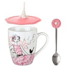 Coffret Tea Time Parisienne Romantique #Tea #Thé #TeaTime #Mug #Paris