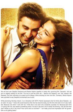 'Deepika is one actor who constantly surprises me' – Ranbir Kapoor.