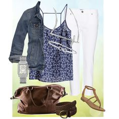"""""""Casual and Easy"""" by p2nya75 on Polyvore"""
