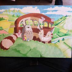 @inking_alex The Catbus (ネコバス Nekobasu) - done - #art #drawing #sketch #artist #painting #illustration #draw #artwork #design #pencil #doodle #paint #ink #instaart #arte #sketchbook #creative #pen #color #drawings #sketching #myart #handmade #artsy #chameleonpens #chameleonpensgermany #chameleonpensbrasil #staedtler #anime #manga