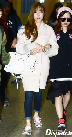 [141019] Tiffany at Incheon Airport Arrival from Shanghai