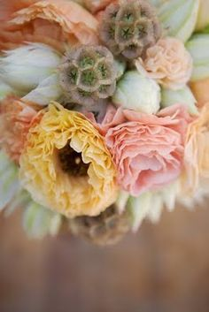 I really am against no bouquet... I think I may just get myself one and walk around the city with it one day