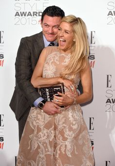 Pin for Later: Is Anyone Not Friends With Ellie Goulding? Ellie Goulding With Luke Evans