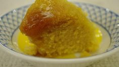 """Husband kindly made this """"Quick syrup and lemon sponge pudding"""" last weekend after I complained he was buying too many Tinned Treacle puddings & kids had begun shouting a bit too excitedly  """"we want pudding in a can"""" every time we visited the supermarket....!!!!"""