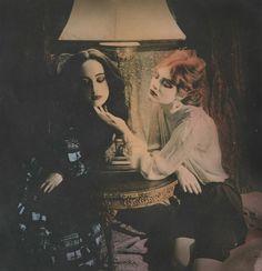 Folie a deux by Ellen Rogers via http://satanicdrugthing.blogspot.com