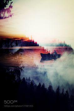 Black Water Bay - Double Exposed by Matt_Johnston