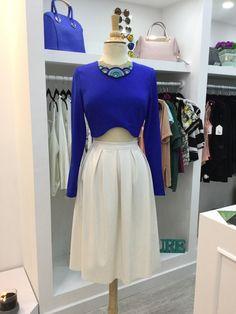 #moda #fashion #new #collection #outfits #croptop #falda #2015 #vestido #dressed #skirt  Tienda ubicada en El Centro Comercial Santa Fe. Plaza Brasil piso 2 local 166. Bogota- Colombia